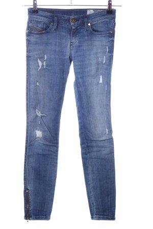 """Diesel Slim Jeans """"Skinzee-Low-Zip"""" blau"""