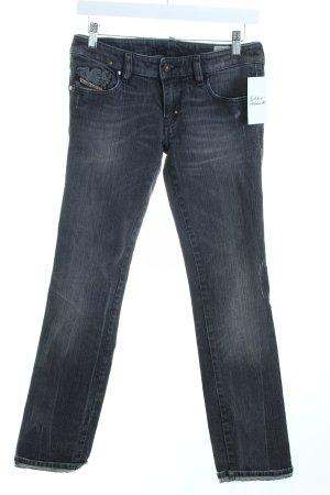 Diesel Slim Jeans grau Casual-Look