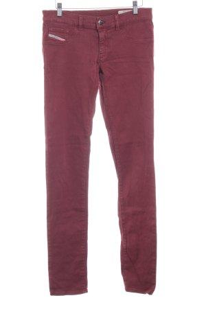 """Diesel Slim Jeans """"Livier"""" braunrot"""