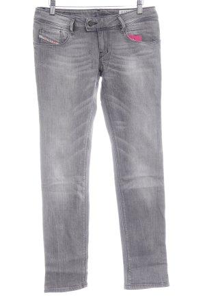 """Diesel Slim Jeans """"Nevy"""" grau"""