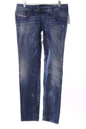 """Diesel Slim Jeans """"Nevy"""" stahlblau"""