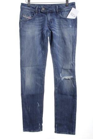 """Diesel Slim Jeans """"NEVY """" stahlblau"""