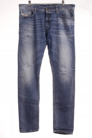 "Diesel Slim Jeans ""Tepphar"" stahlblau"