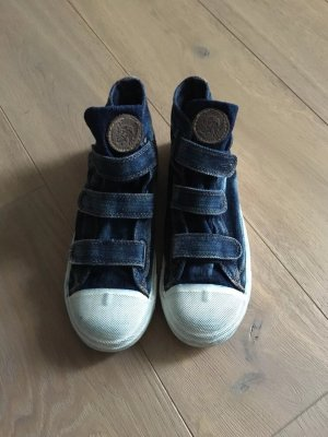 Diesel Sneaker con strappi blu scuro