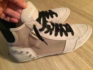 Diesel Sneaker alta multicolore Scamosciato