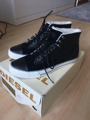 Diesel Sneaker mit Fell