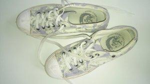 Diesel Sneaker weiß-zart lila