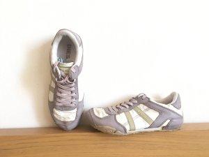 Diesel Sneakers Schuhe AVY ivory 36 Leder NP €110.- Echtleder