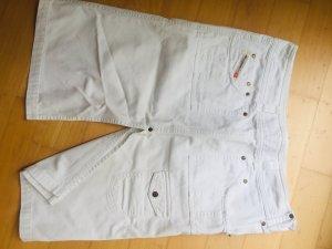 Diesel Denim Skirt white cotton