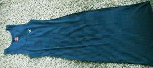Diesel Sommerkleid bodenlang dunkelgrün Größe M