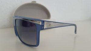 DIESEL Sonnenbrille blau silber