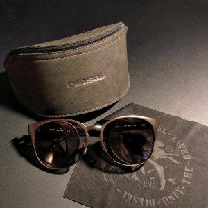 DIESEL Sonnenbrille bronze braun Cateye Schmetterling