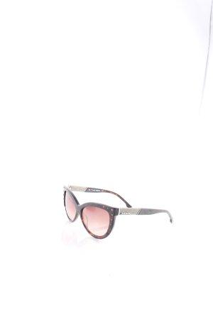 Diesel Sonnenbrille dunkelbraun-schwarz extravaganter Stil