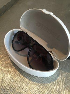 Diesel Sonnenbrille Farbe Schwarz
