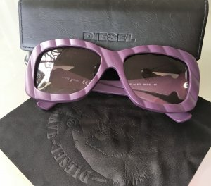 Diesel Retro Glasses mauve-lilac synthetic material