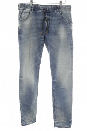 Diesel pantalonera azul acero look casual