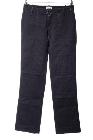 Diesel Pantalone jersey nero stile professionale