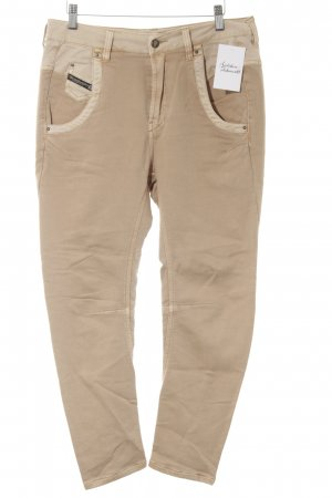 Diesel Stoffhose apricot-nude Casual-Look