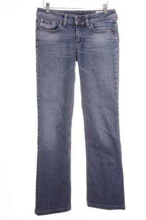 """Diesel Straight-Leg Jeans """"Bebel"""" blau"""