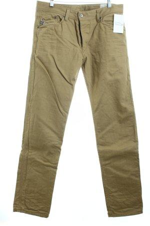 Diesel Straight-Leg Jeans beige Casual-Look