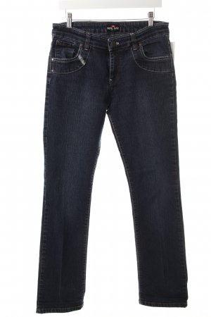 Diesel Straight-Leg Jeans blau