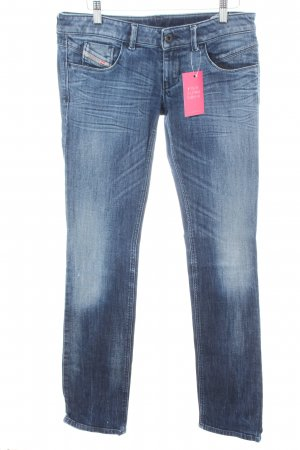 "Diesel Straight-Leg Jeans ""Lowette"" blau"