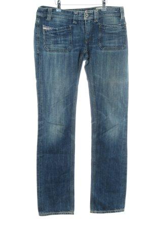 """Diesel Straight-Leg Jeans """"Keate"""" blau"""