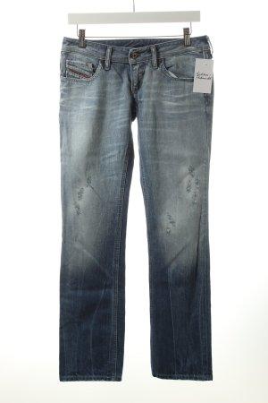 Diesel Straight-Leg Jeans himmelblau Casual-Look