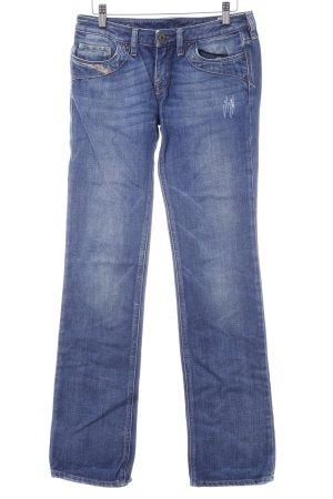 Diesel Straight-Leg Jeans kornblumenblau Casual-Look
