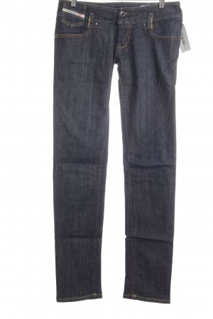 "Diesel Straight-Leg Jeans ""Matic"" stahlblau"