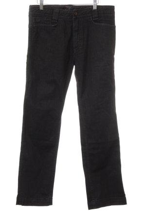 Diesel Straight-Leg Jeans schwarz Street-Fashion-Look