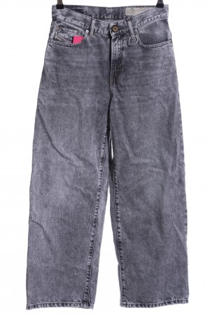 """Diesel Straight-Leg Jeans """"Widee"""" grau"""