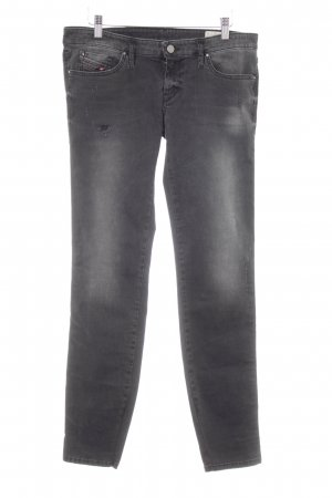 Diesel Stretch Jeans anthrazit Casual-Look