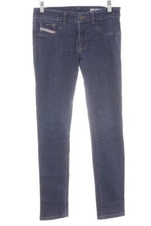 Diesel Jeans elasticizzati blu stile semplice