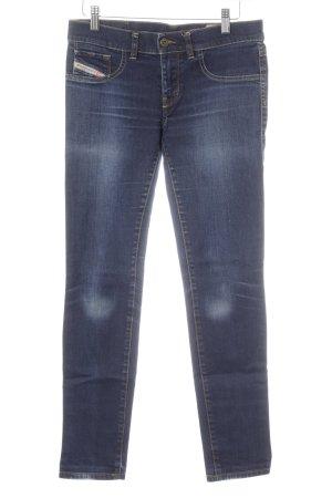 Diesel Stretch Jeans dunkelblau-kornblumenblau Casual-Look