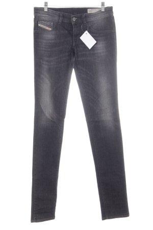 Diesel Jeans elasticizzati grigio scuro stile casual
