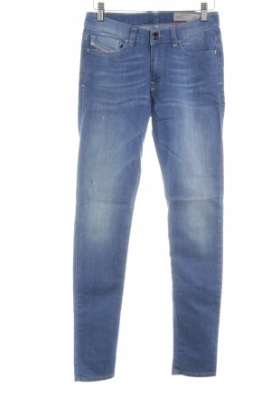 Diesel Stretch Jeans neonblau Jeans-Optik