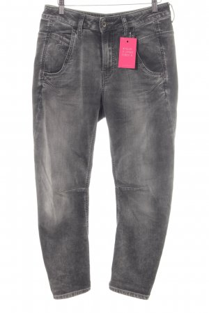 Diesel Stretch Jeans grau-anthrazit Casual-Look