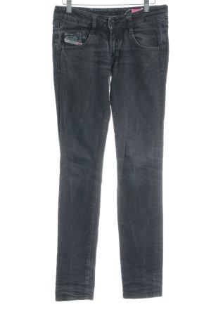 Diesel Jeans stretch gris style décontracté