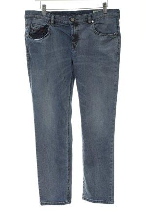 Diesel Stretch Jeans graublau Casual-Look