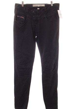Diesel Stretch Jeans schwarz Jeans-Optik