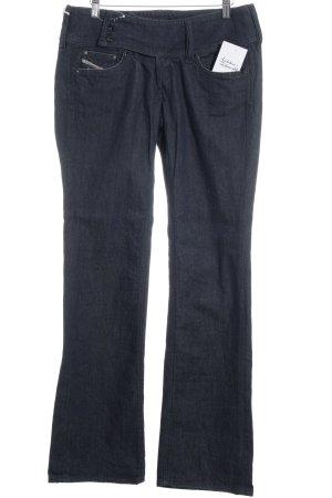 Diesel Stretch Jeans stahlblau Casual-Look