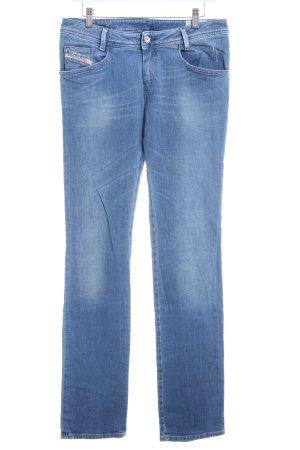 Diesel Stretch Jeans stahlblau-himmelblau Casual-Look