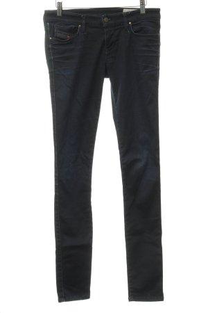 Diesel Stretch Jeans taupe Destroy-Optik