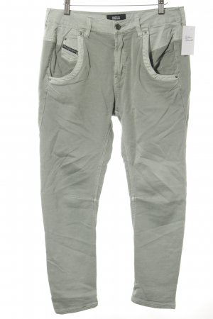 Diesel Stretch Trousers sage green athletic style