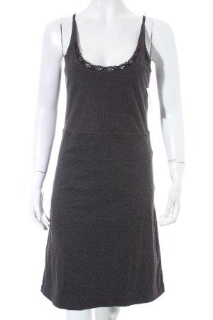 Diesel Stretchkleid schwarz-grau schlichter Stil