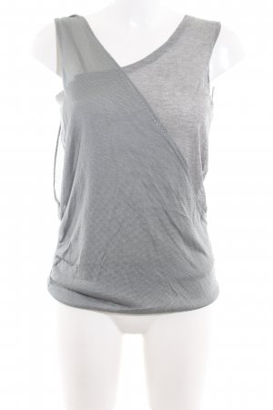 Diesel Knitted Top silver-colored casual look