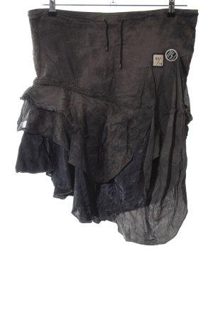 Diesel Gelaagde rok brons casual uitstraling