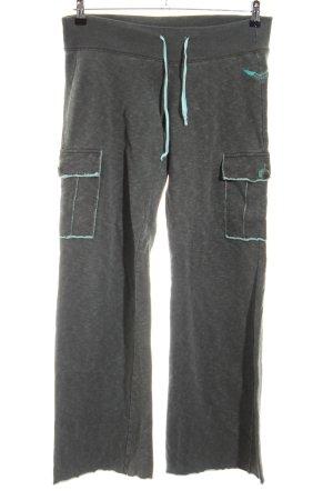 Diesel Pantalone fitness grigio chiaro puntinato stile casual