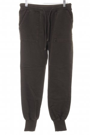 Diesel Pantalon de jogging kaki style décontracté